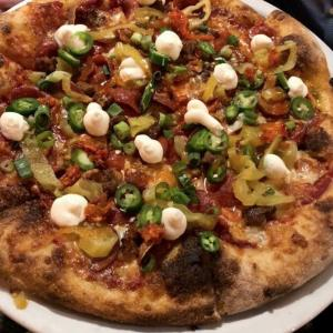 picante pizza - Tony's Pizza Napoletana