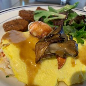 Lobster Omelet - The Salt Line Oyster & Ale