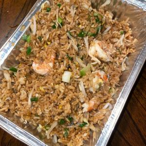 Shrimp Fried Rice with Extra Garlic Butter