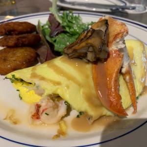 Lobster Omelet - The Salt Line
