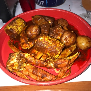 Crab Boil in The Kitchen Sink Sauce - Shell Shack