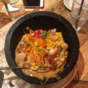 Seafood Molcajete - Rocco's Tacos and Tequila Bar