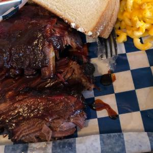 Baby Back ribs and Sliced Brisket - The Shed Barbecue and Blues Joint