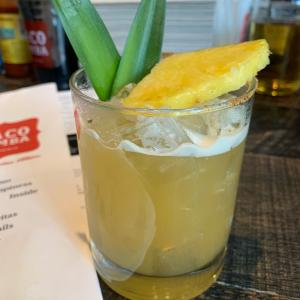 Smoked Pineapple Margarita