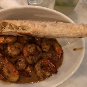 Barbecue Shrimp with rosemary focaccia - Broussard's