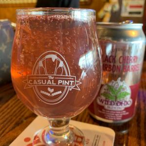 Black Cherry Bourbon - The Casual Pint Youngstown