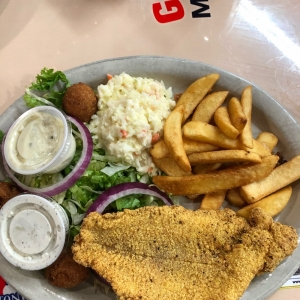 fried catfish - Grumpy's Mexican Cafe