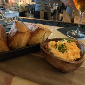 Biscuits & Pimento Cheese - St. Anselm