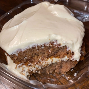 Banana Cake with Cream Cheese Frosting - B & J Cookie Shopp