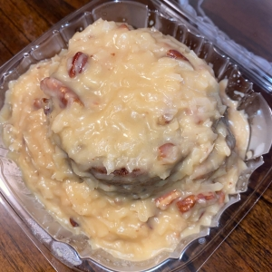 Mini German Chocolate Cake - B & J Cookie Shopp