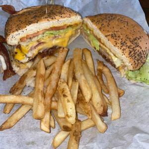 Killer Klub with Fries - Miller's Cafe