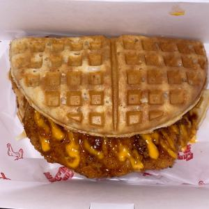 Buttermilk Fried Chicken & Waffle