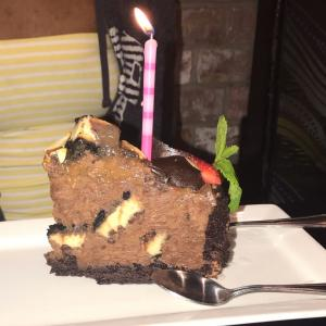 Chocolate Cake Cheesecake - The Rouxpour - Sugar Land