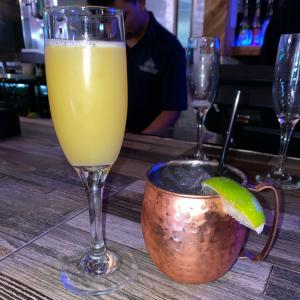Mimosa and Moscow Mule